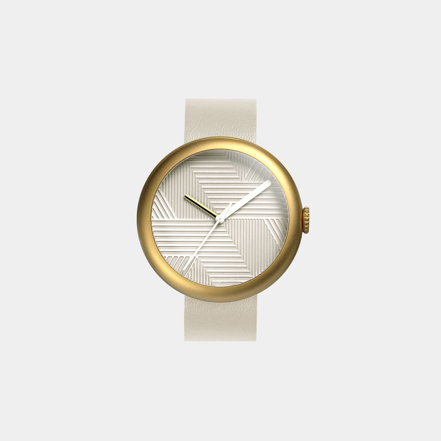 objest-watch-gold-nude-front