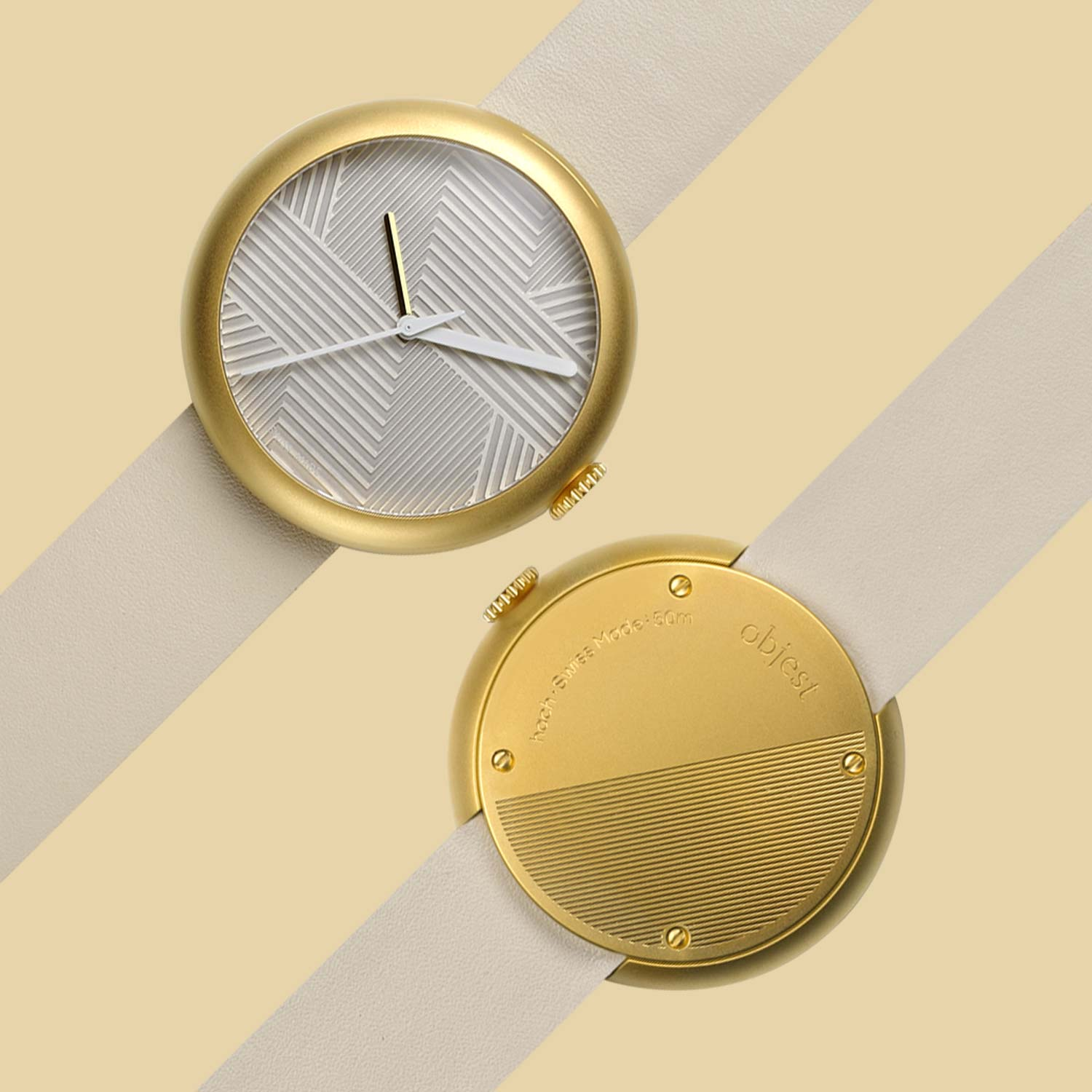 objest-watch-gold-nude-front-back